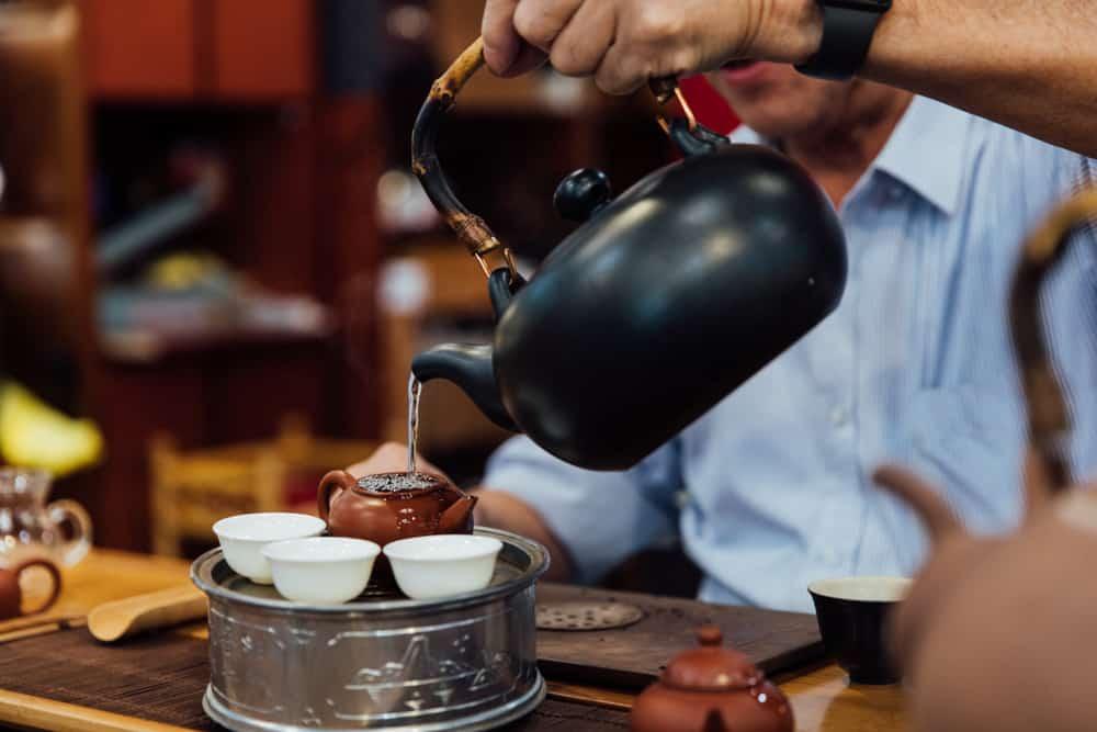kong fu tea
