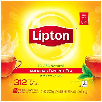 Lipton Black Tea—America's Favorite Tea