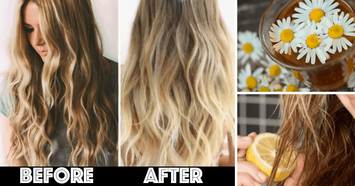 Make Your Hair Great Again With Chamomile Tea