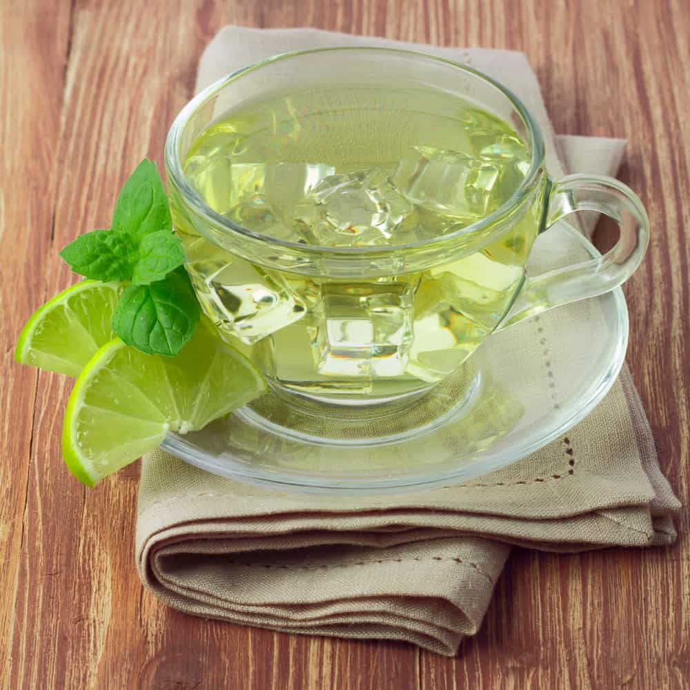 Cold Brewing green tea