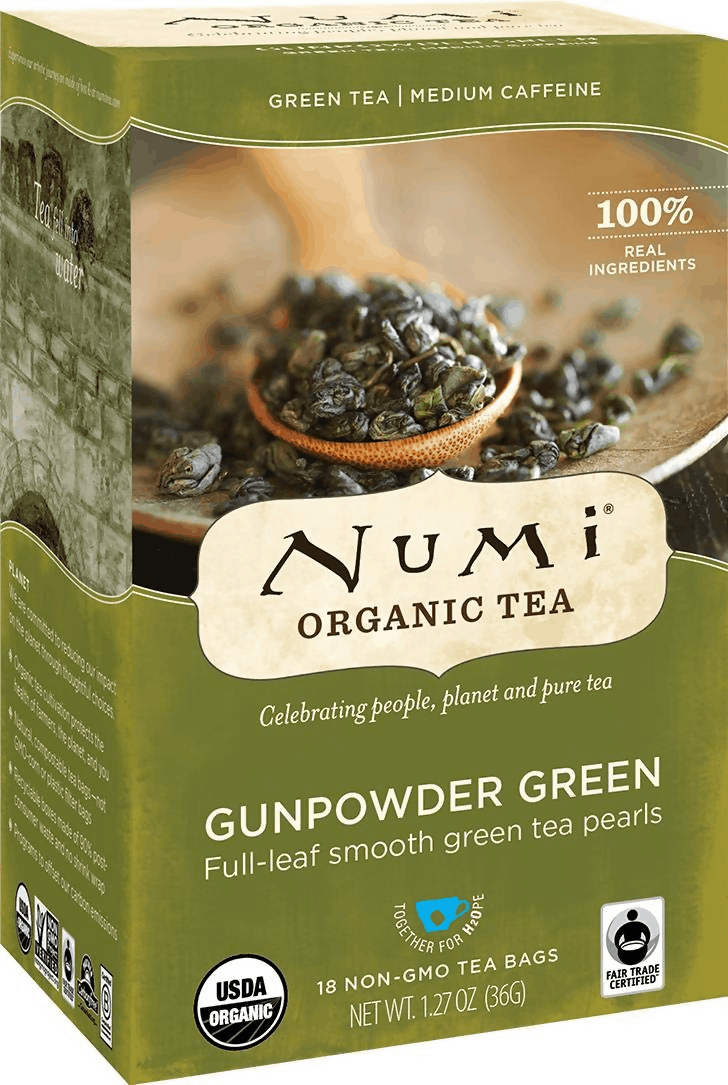 Numi  - Best Gunpowder Green Tea, Amazon's Choice