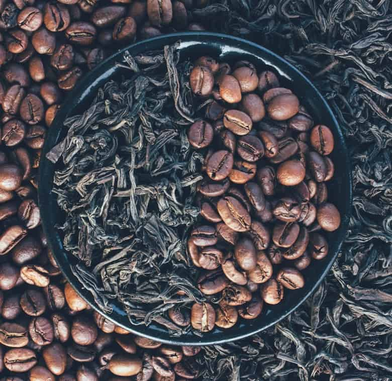 Caffeine in decaffeinated coffee