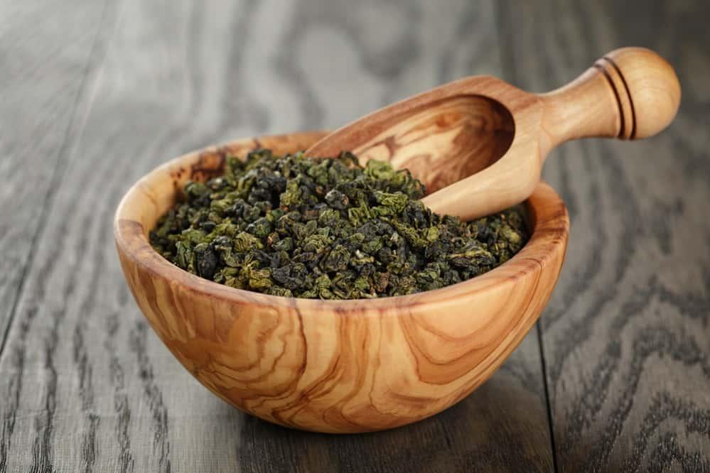 drink oolong tea