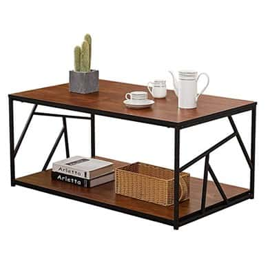 VECELO Modern Coffee Tea Table