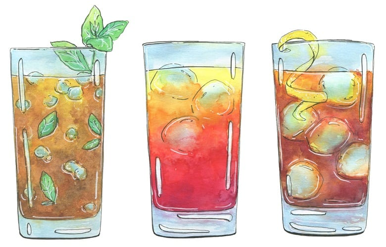 Other Ingredients for Long Island Iced Tea