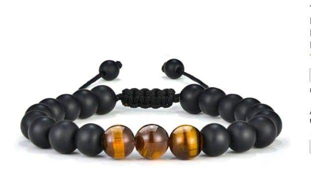 Beautiful All Black Chakra Bracelet