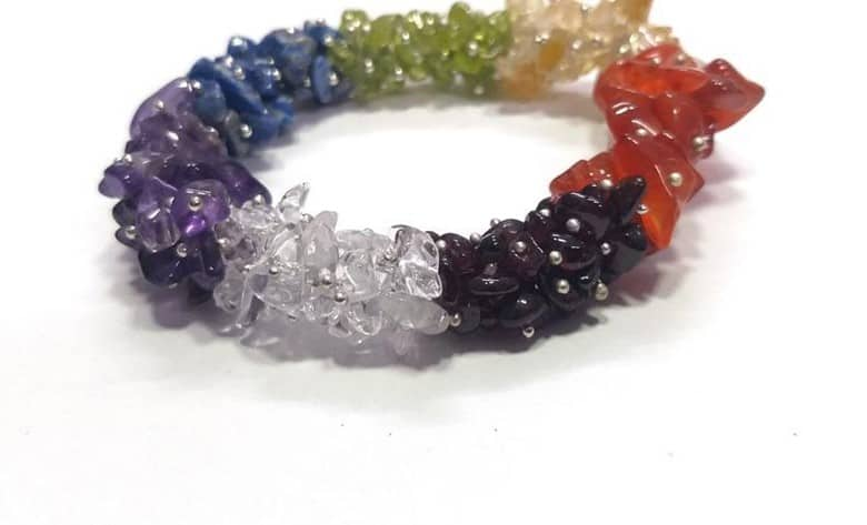 Simple And Minimalistic Chakra Bracelet