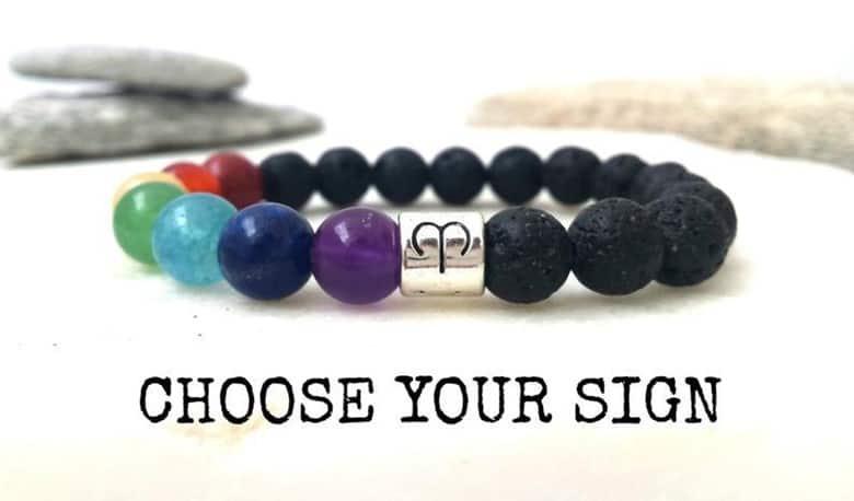 Zodiac Inspired Chakra Bracelet