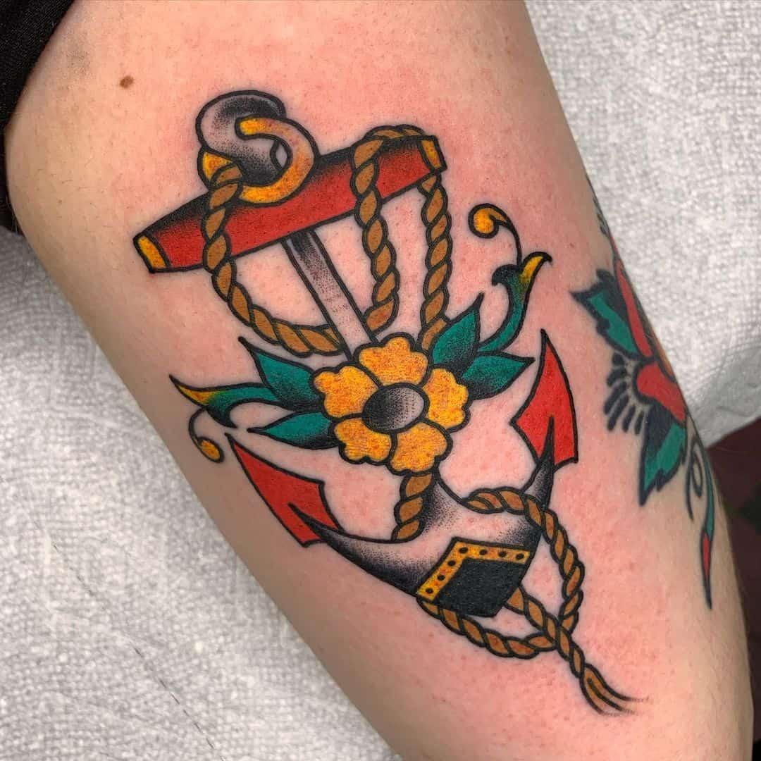 Anchor tattoo 2