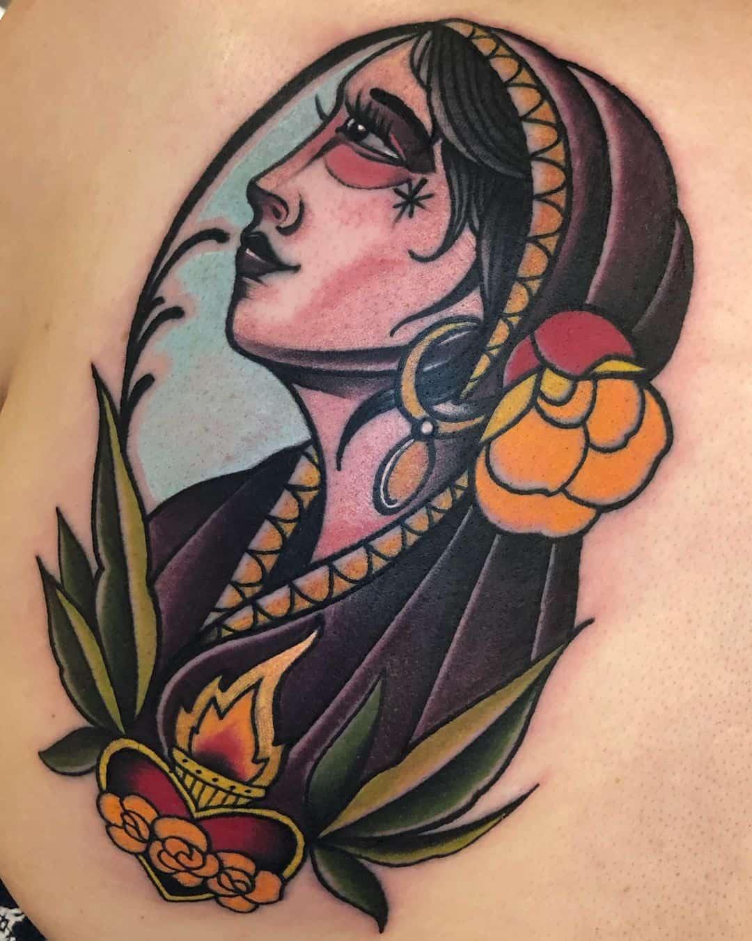 Gypsy woman 4