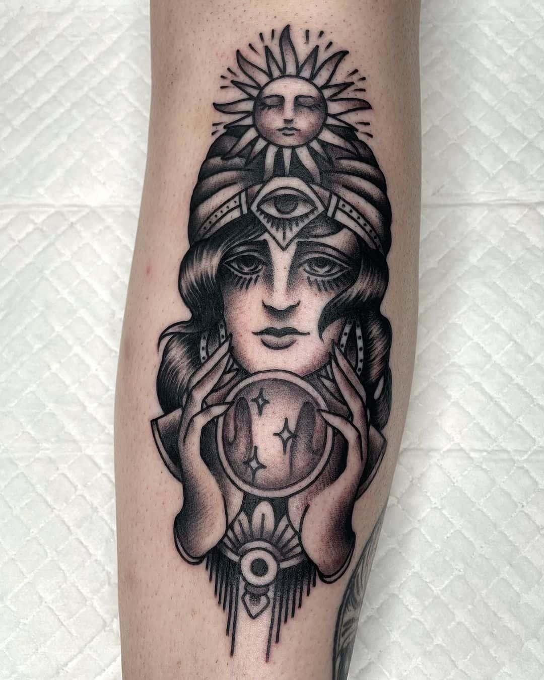 Gypsy woman 5