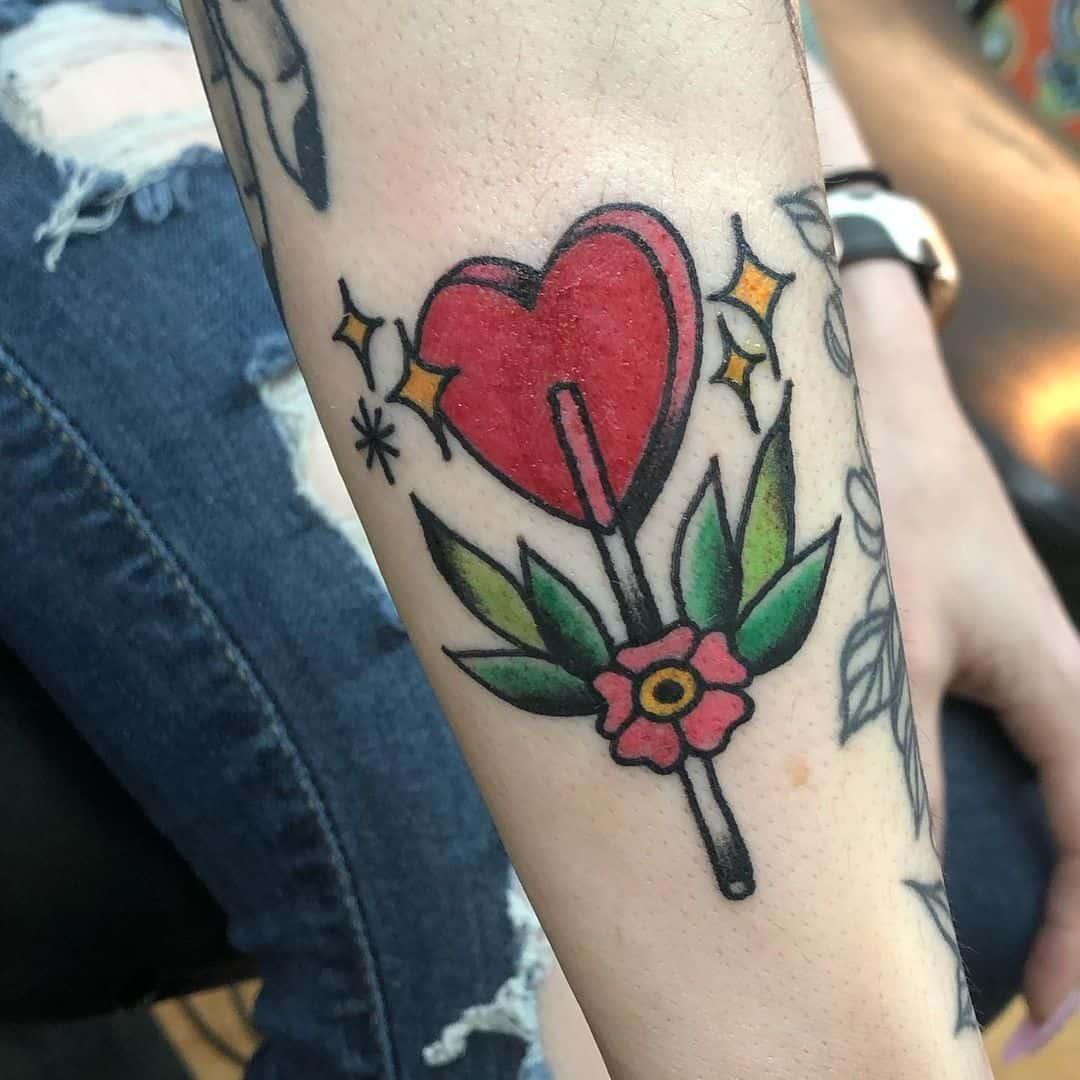 Heart tattoo 5