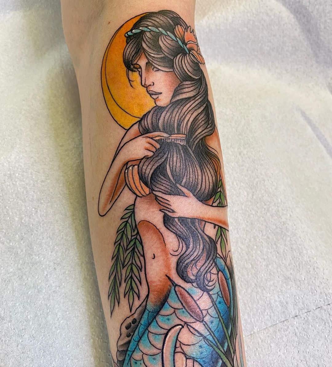 Mermaid tattoo 2