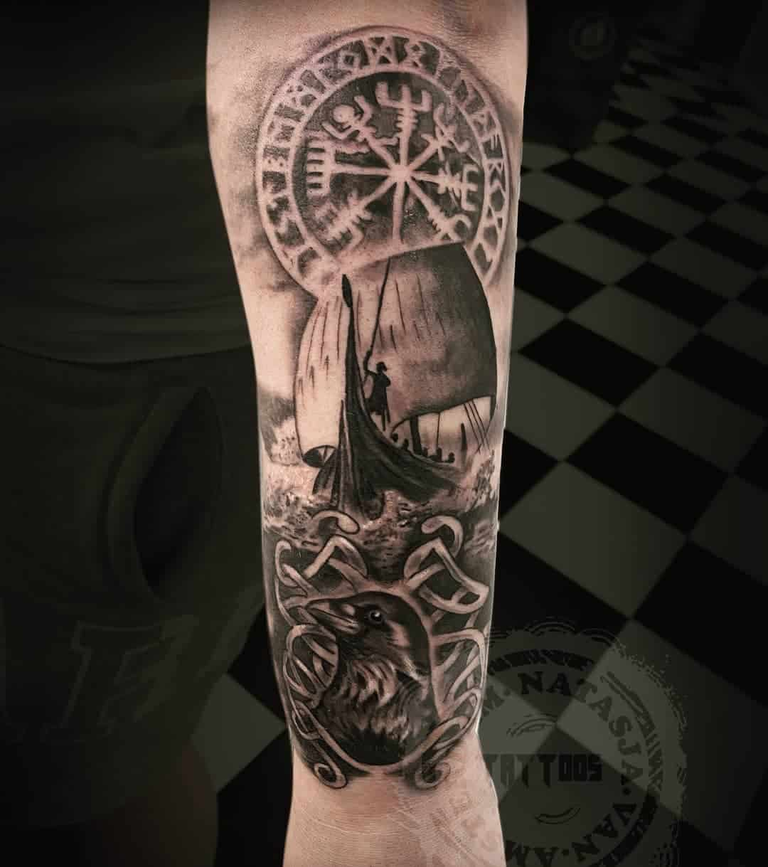 Ship tattoo 4