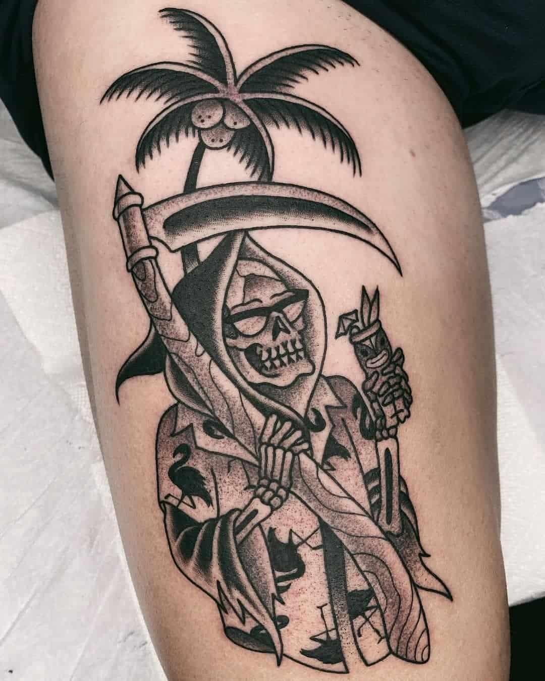 Skull tattoo 1