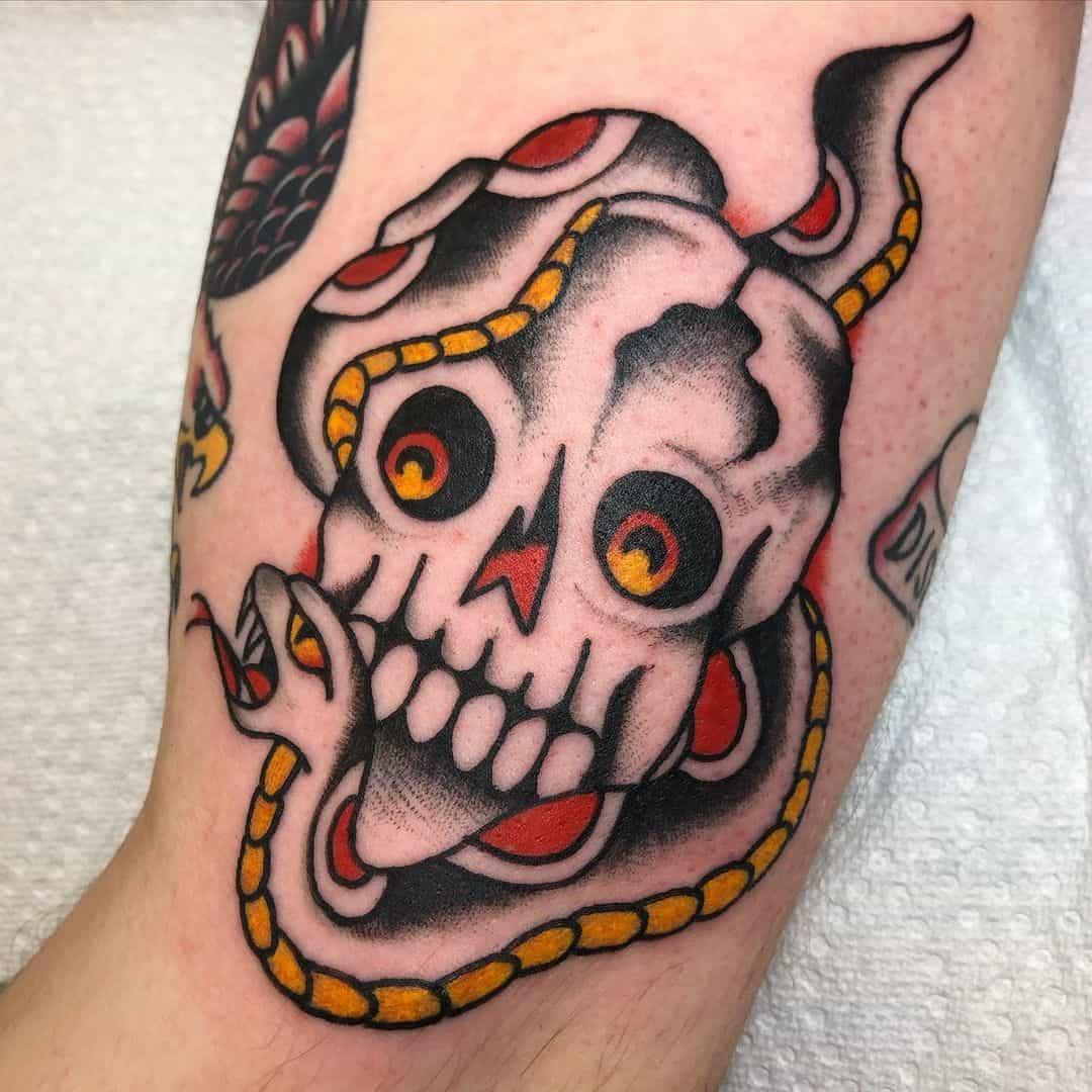 Skull tattoo 2