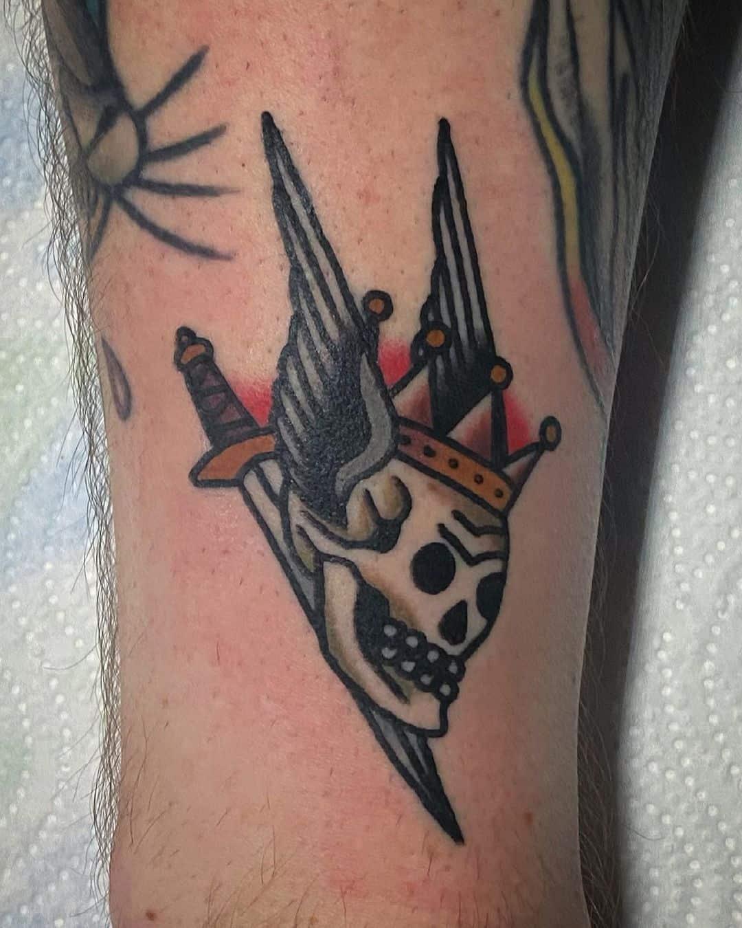 Skull tattoo 3