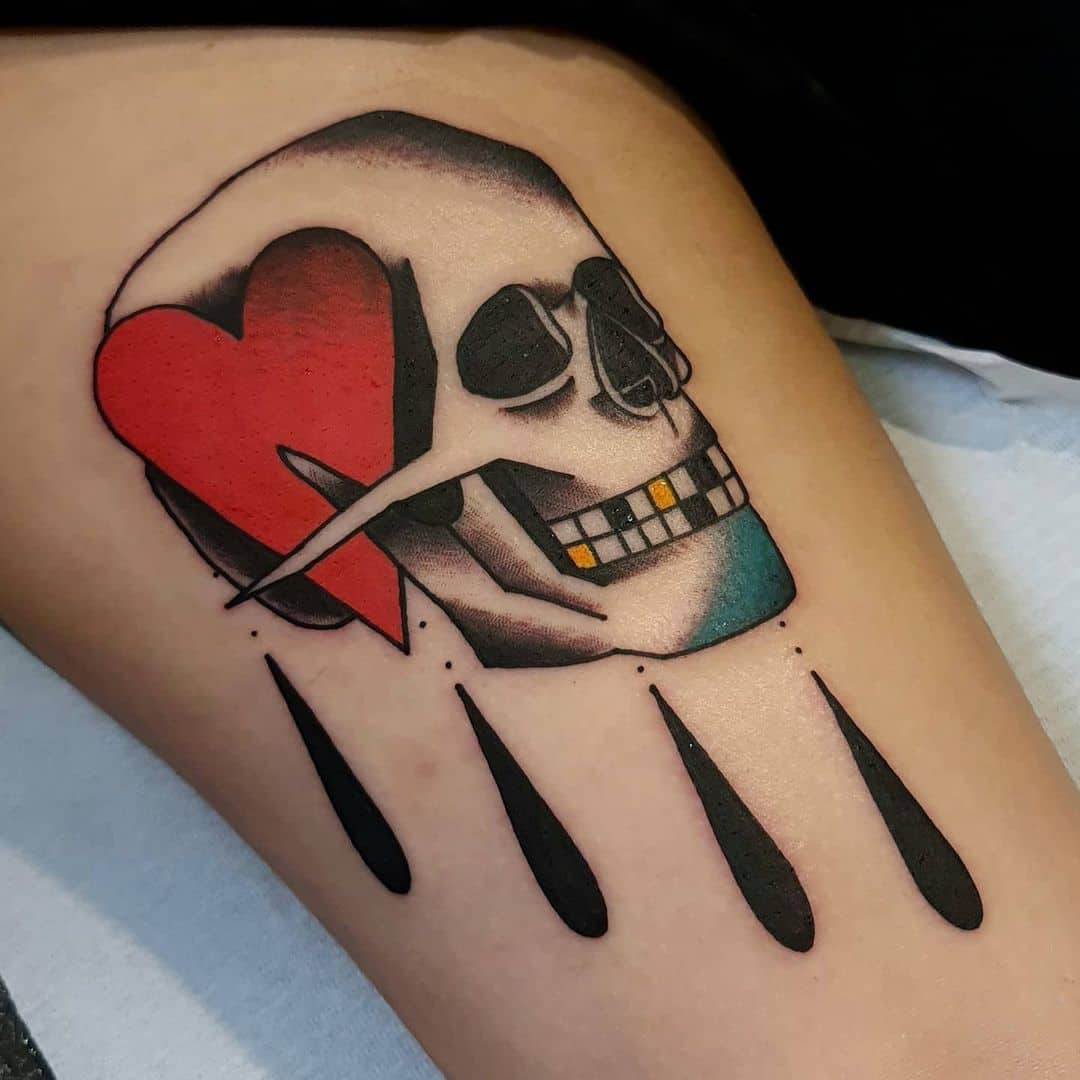 Skull tattoo 4