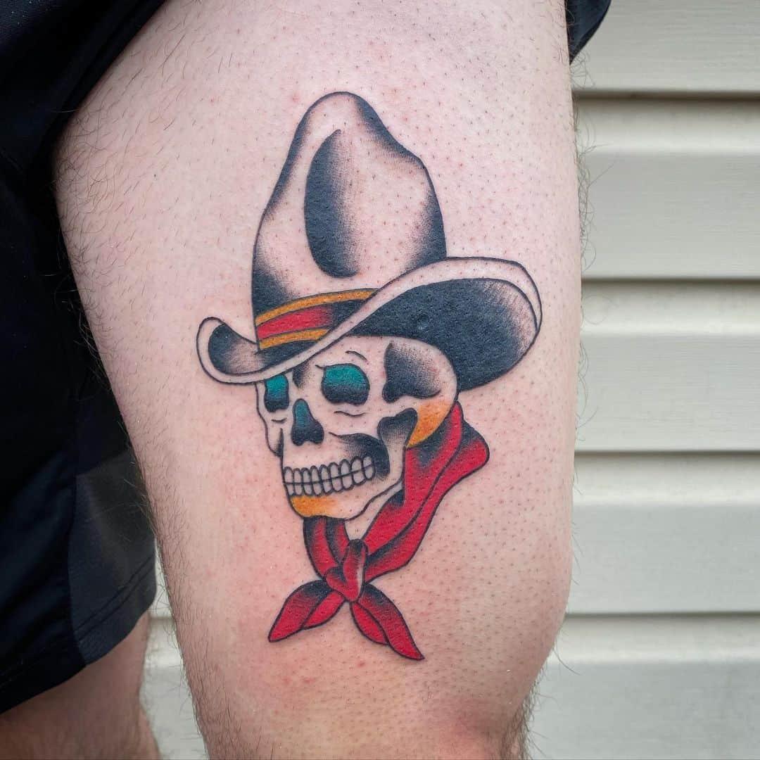 Skull tattoo 5