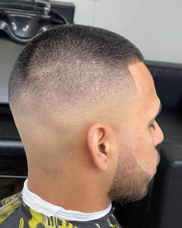 Bald Fade Hairstyles for Receding Hairline 1