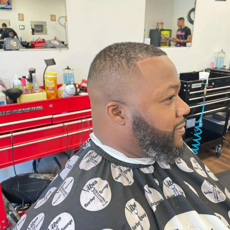 Bald Fade Hairstyles for Receding Hairline 2