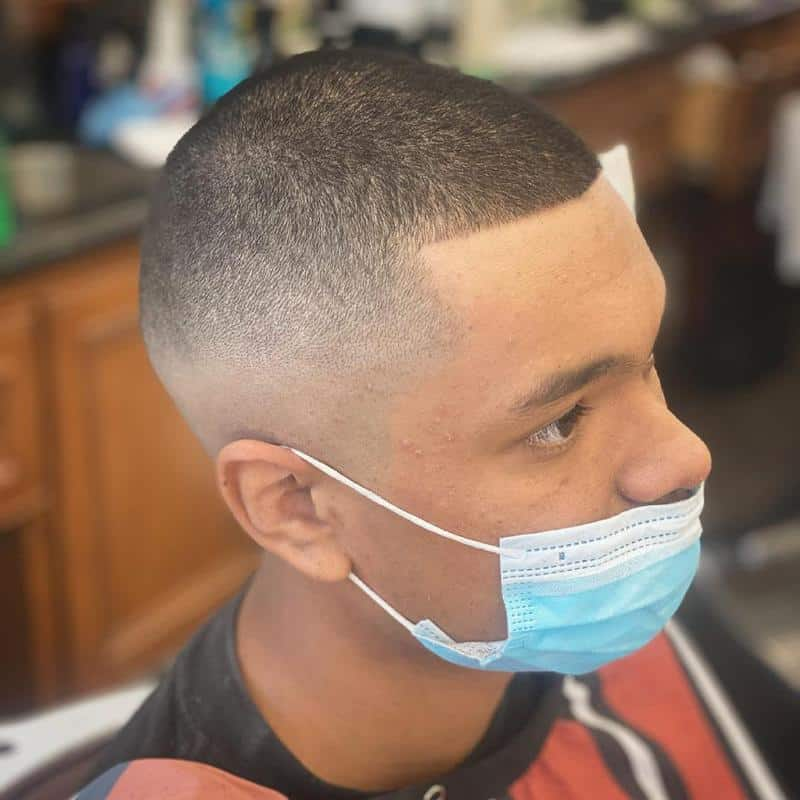 Bald Fade Hairstyles for Receding Hairline 3