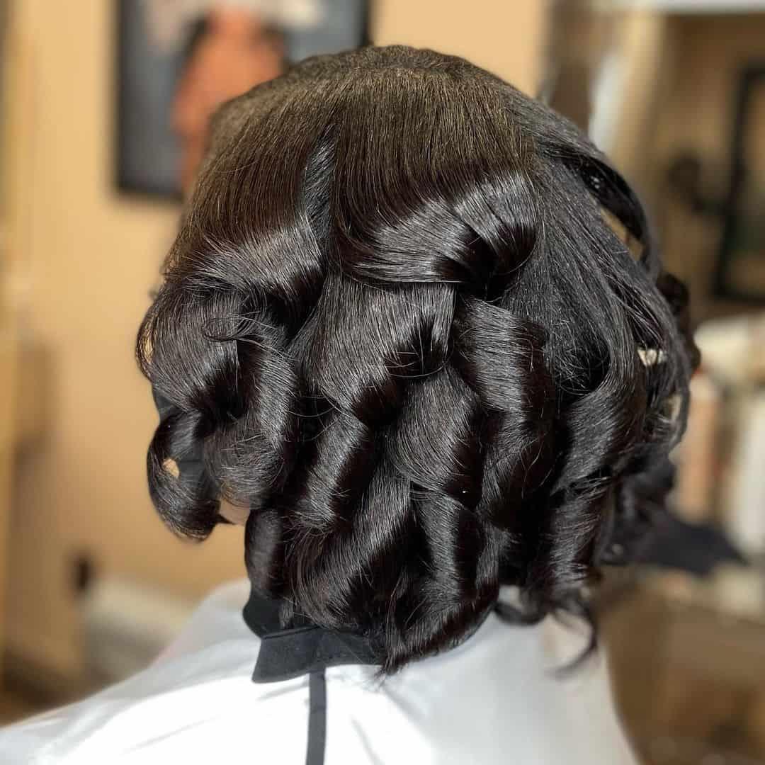 Black Curls Mini Hair