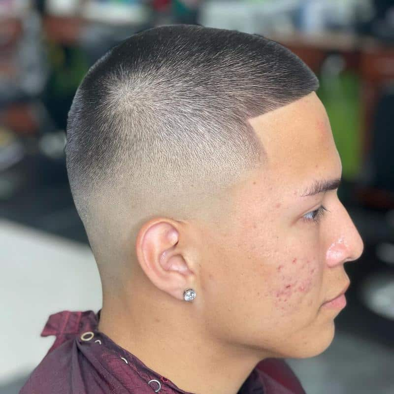 Buzz Cut Hairstyles for Receding Hairline 3