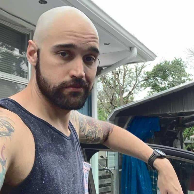 Clean Shave Hairstyles for Receding Hairline 1