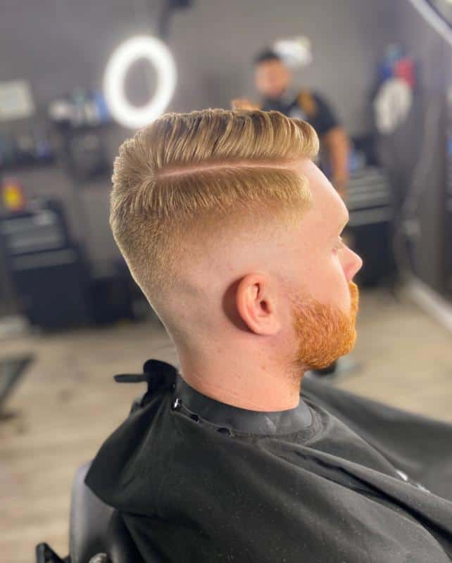Comb Over Hairstyles for Receding Hairline 2