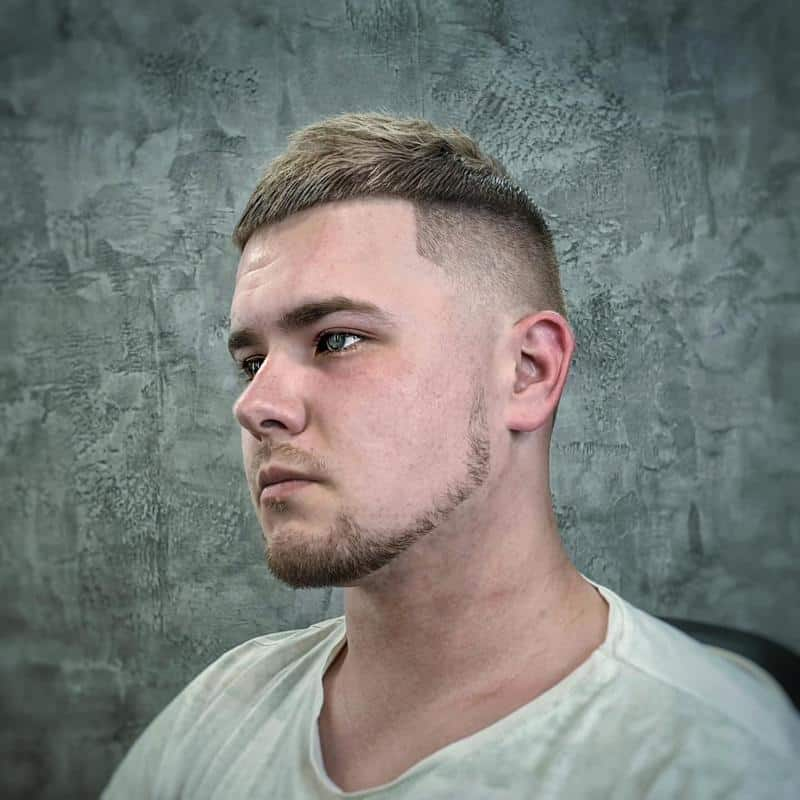 Crew Cut Hairstyles for Receding Hairline 3