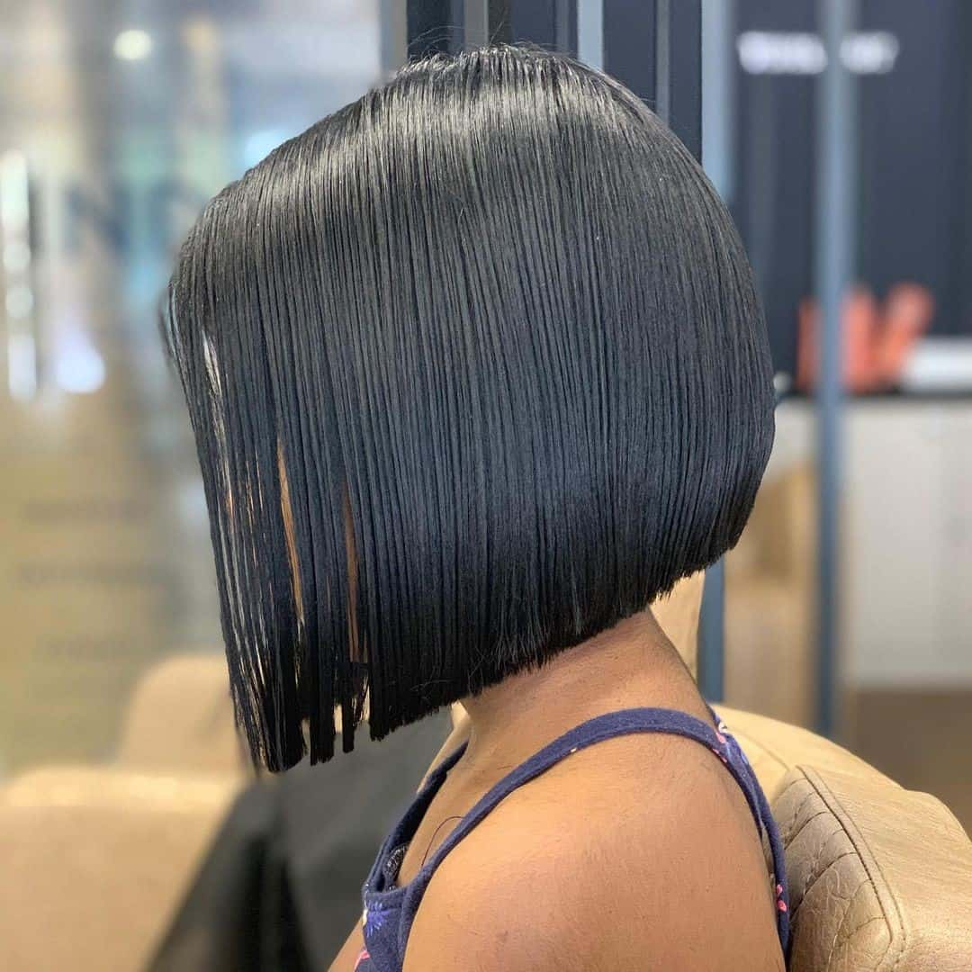 Defined Black Hair Look For Little Girl