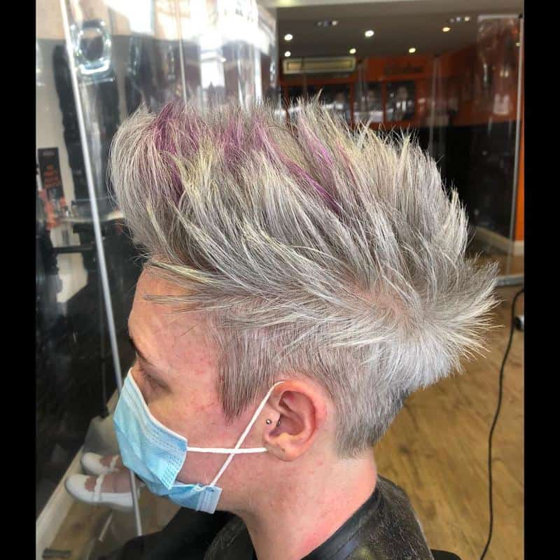 Faux Hawk Hairstyles for Receding Hairline 1