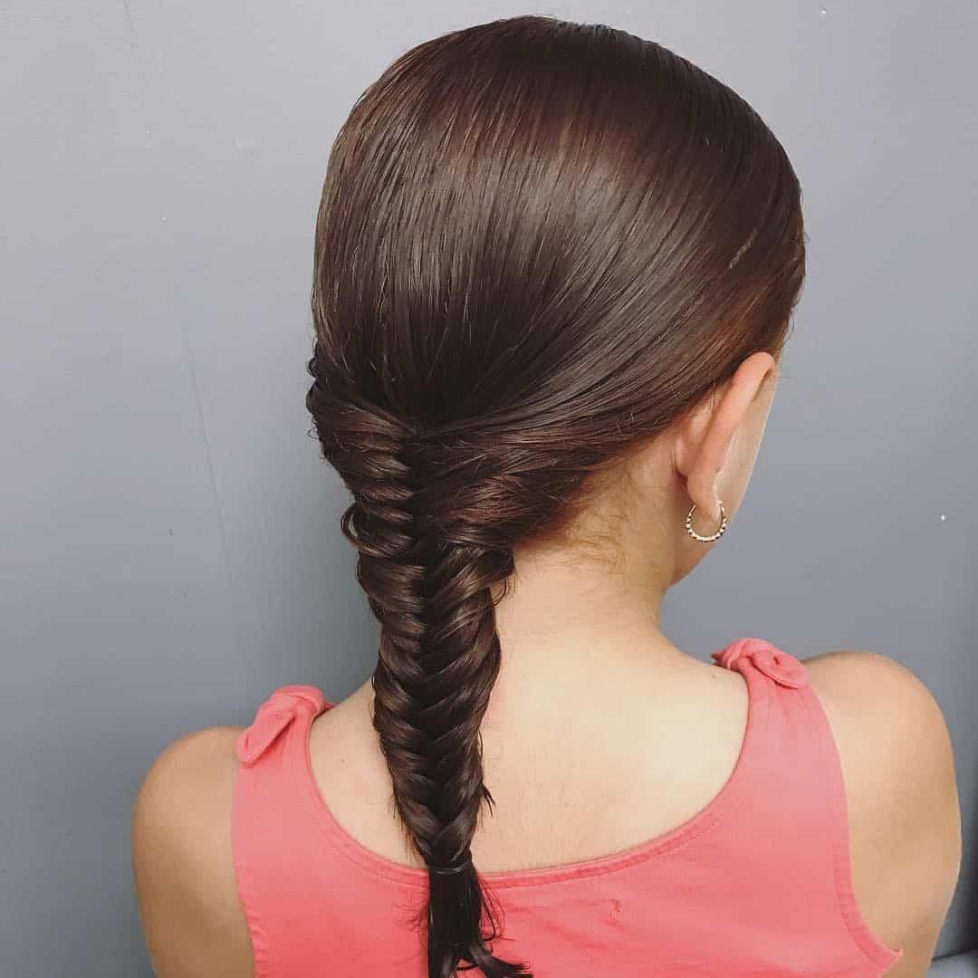 Fishtail Little Girl Haircut Idea