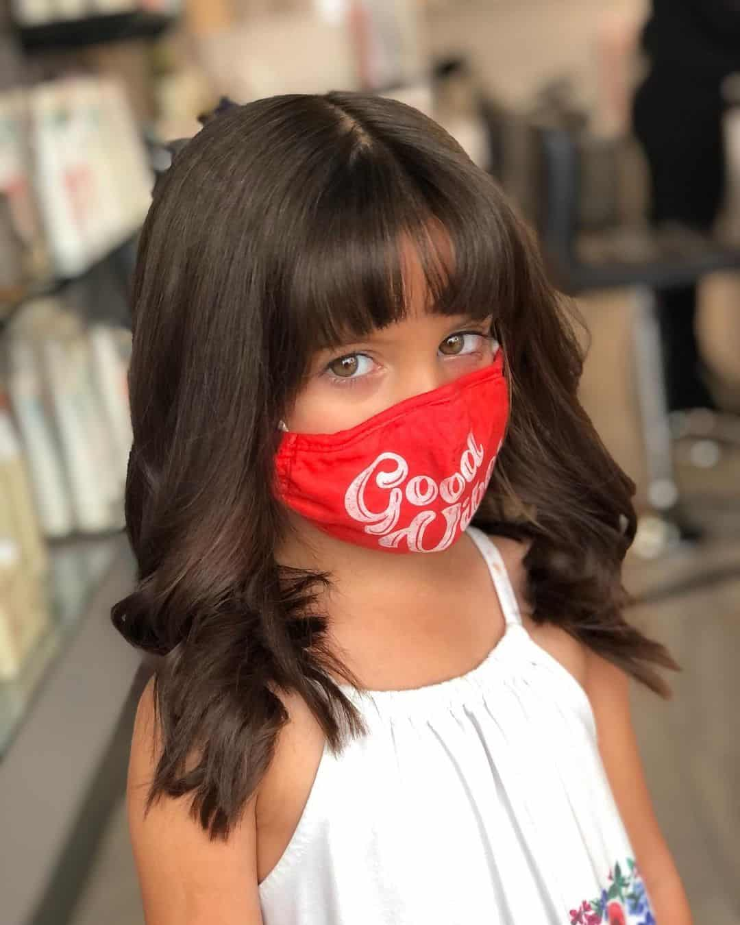 Little Girl Haircuts Short Hair With Bangs