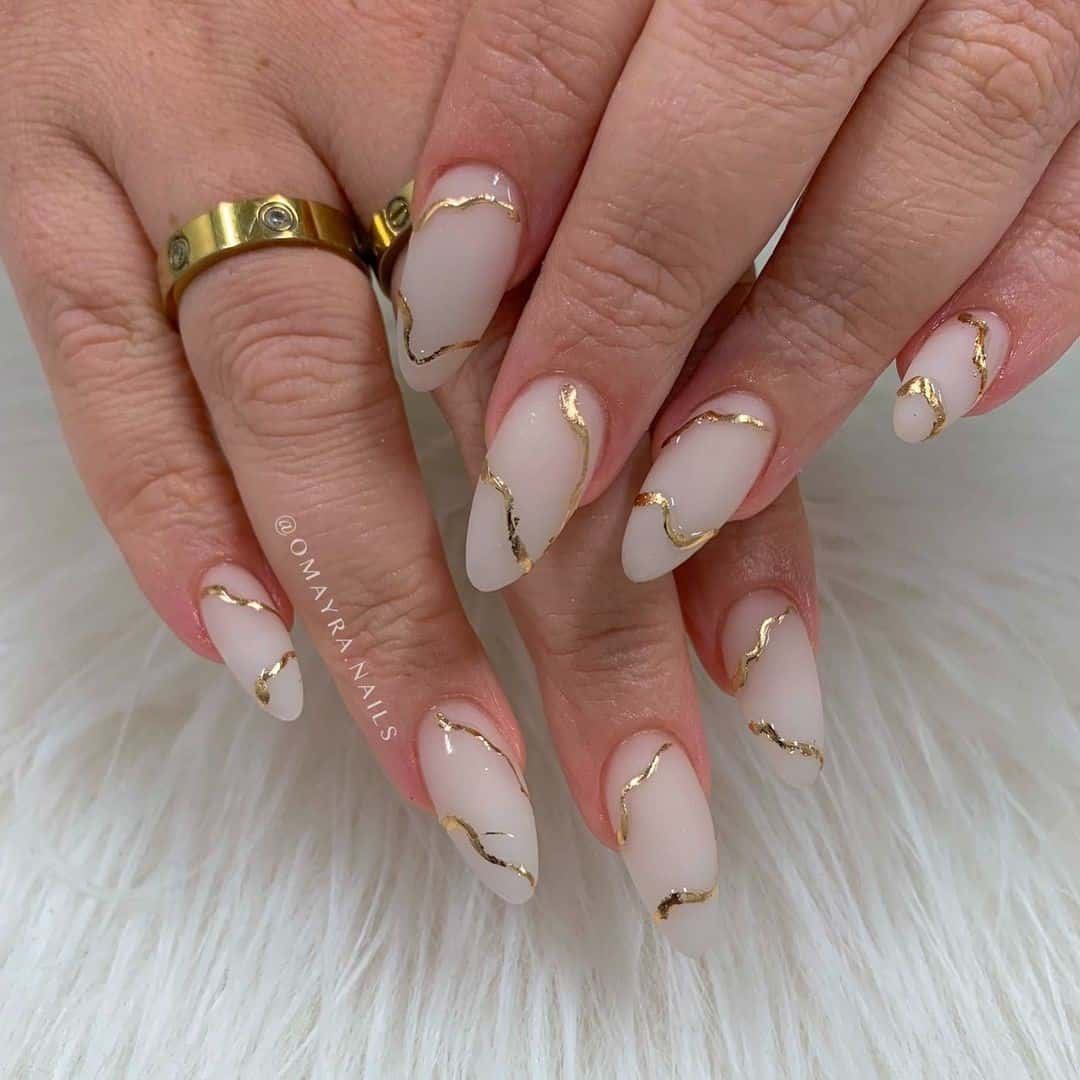 Long Acrylic Matte Nails