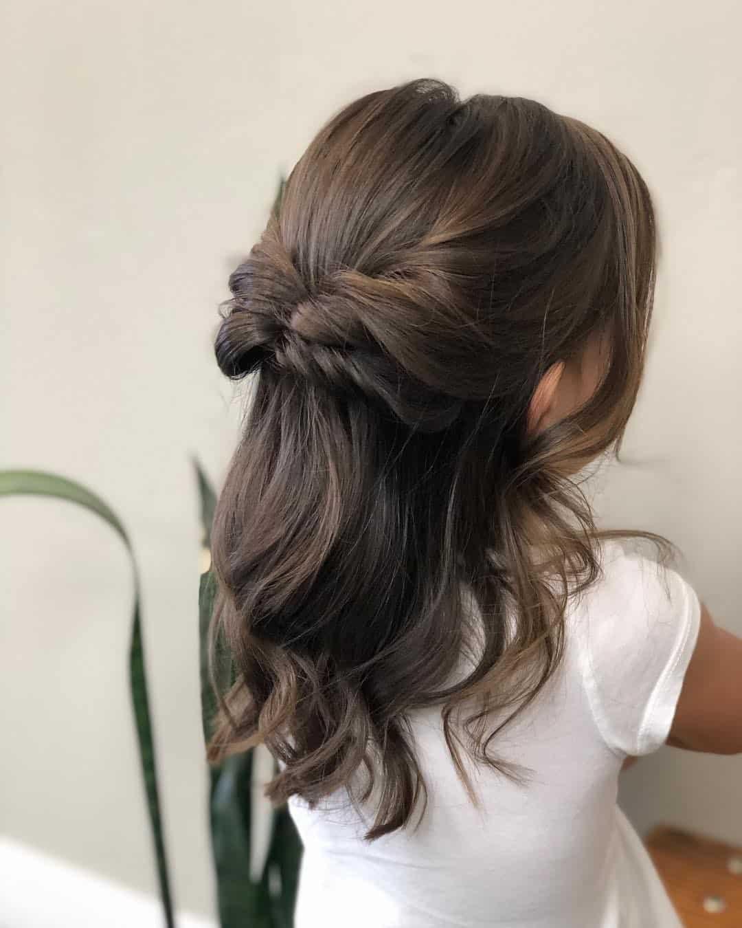 Long Little Girl Haircuts Braid Detail