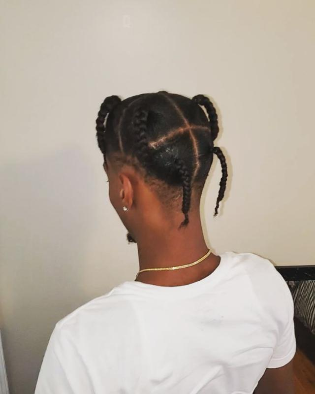 Ponytail Hairstyles For Male 2