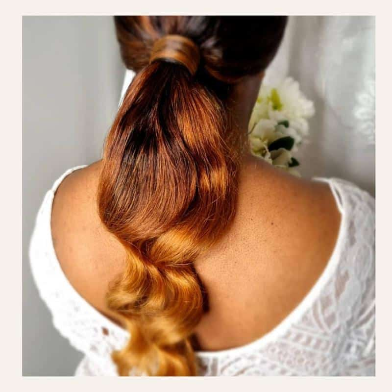 Ponytail Hairstyles With Weave 1