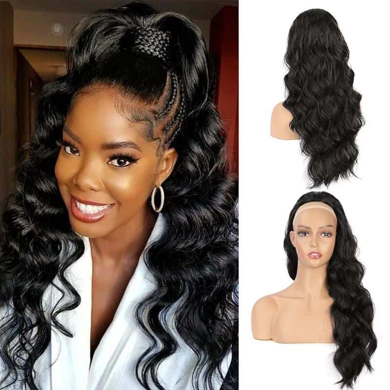 Ponytail Hairstyles With Weave 2