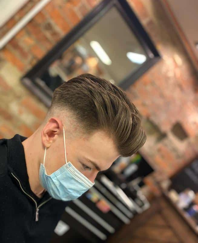 Short Back and Sides Hairstyles for Receding Hairline 2