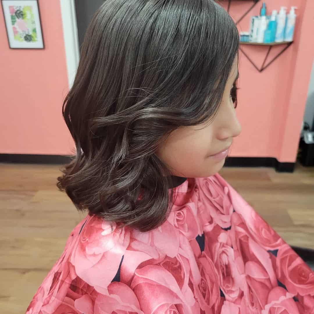 Short Wavy Hair For Little Girls