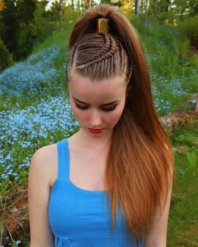 Sophisticated Ponytail Hairstyles 1