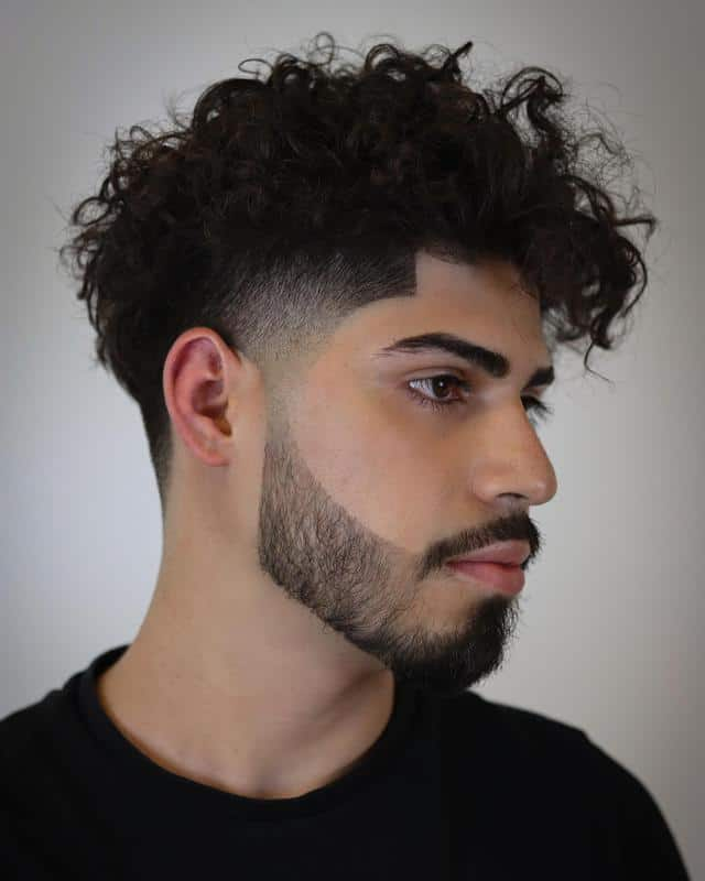 Taper Fade Hairstyles for Receding Hairline 2