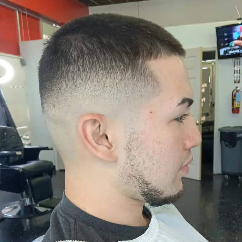 Taper Fade Hairstyles for Receding Hairline 3