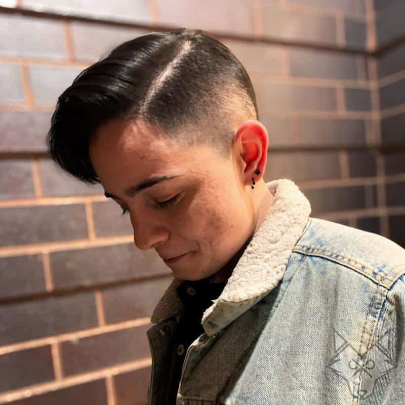 Undercut Hairstyles for Receding Hairline 2