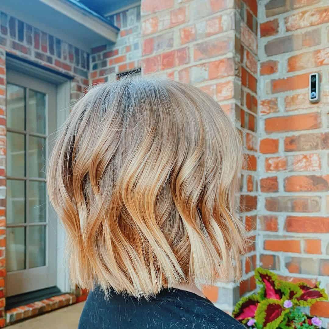 Wavy Hairstyle Little Girl Cut